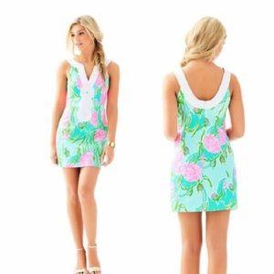Lilly Pulitzer Valli Mini Shift Dress Going Stag